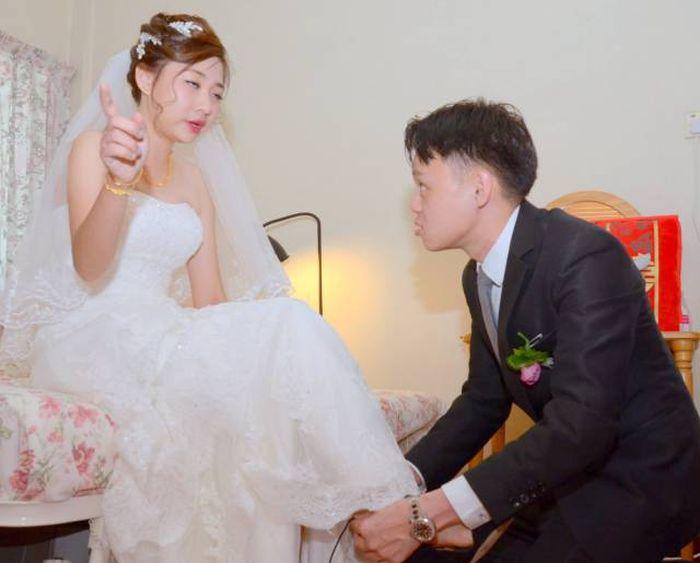любительское фото после свадьбы